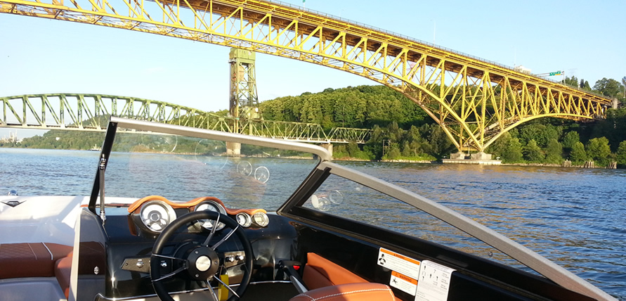 Boat Rentals Second Narrows Bridge