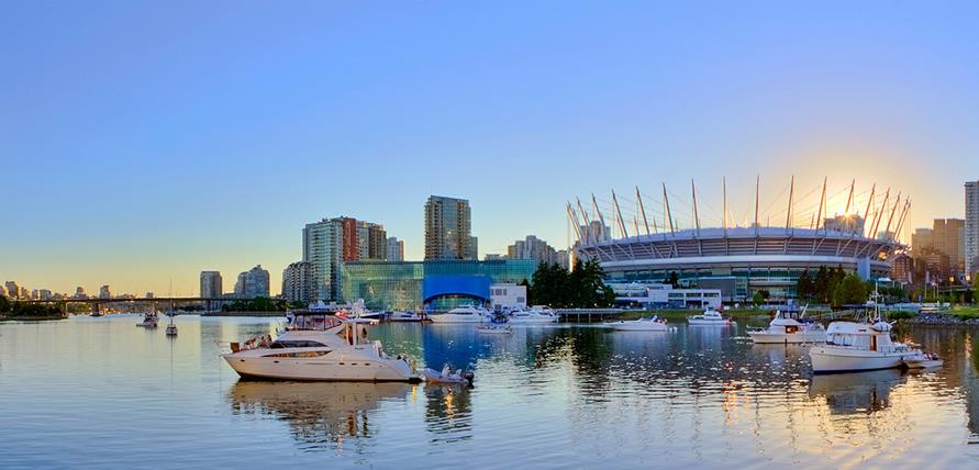 Stadium Vancouver Boat Rental
